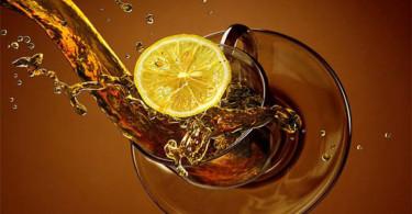 Польза чая с лимоном