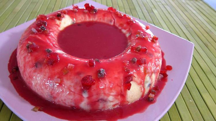 Пирожное из манки