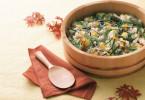 Рисовый салат с фруктами