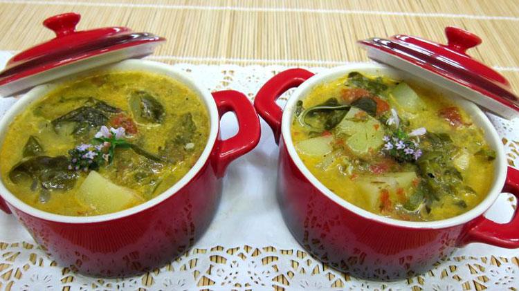 рецепт супа из щавелч