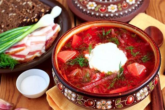 настоящий борщ украинский рецепт с фото