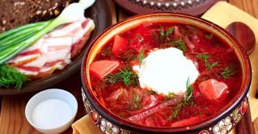 3 рецепта украинского борща