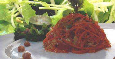 Марокканский морковный салат