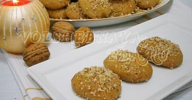 Греческое печенье меломакарона рецепт с фото
