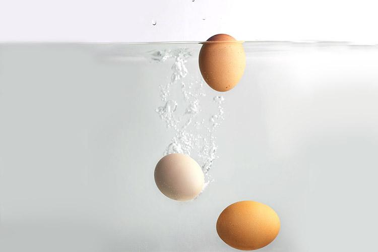 как проверить свежесть яиц