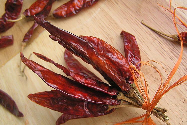 как сушить острый красный перец