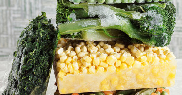 как правильно заморозить овощи