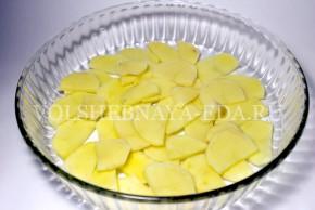 Куриные ножки в духовке с картофелем-2