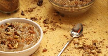 Десерт из сушеного инжира