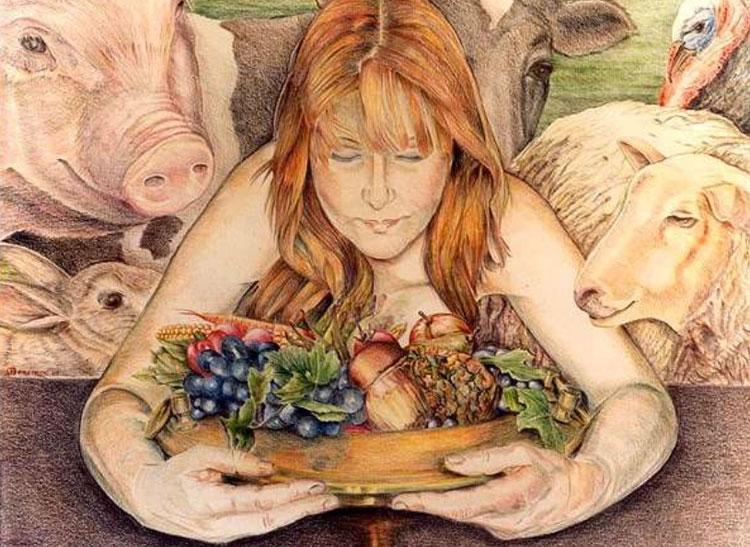 Какими бывают вегетарианцы
