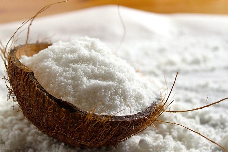 как дома высушить мякоть кокоса