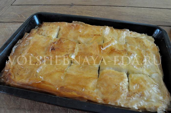 рецепт греческой пахлавы