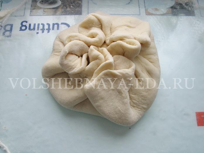 хачапури выпекание - шаг 2