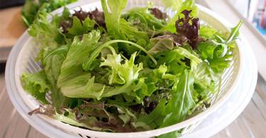 рецепт салата из зелени