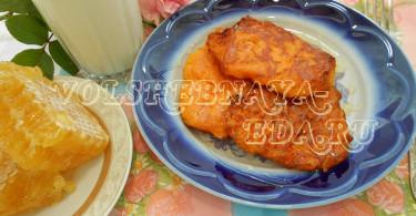 Тыквенные оладьи рецепт с фото