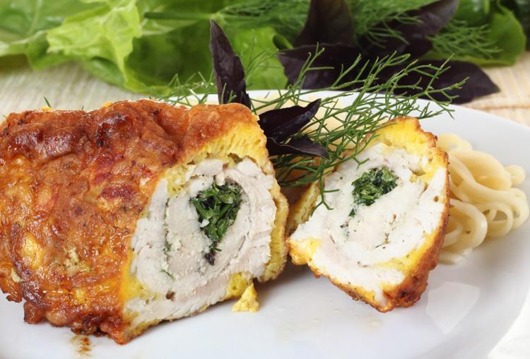 куриные рулетики в соусе в духовке рецепт с фото