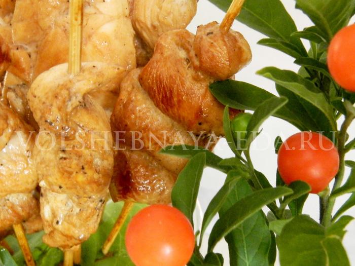 Куриный шашлык рецепт с фото
