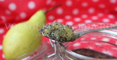 Варенье из груши с маком
