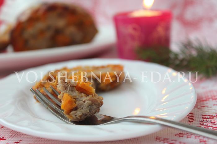 Голень индейки, рецепт на Рождество