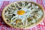 Пицца с яйцом-шаг 19