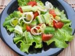 Салат с красной рыбой: шаг 2