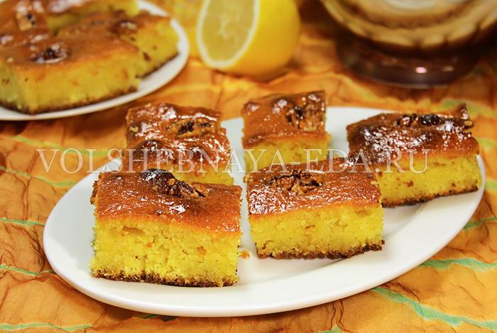 рецепты арабские пирожные