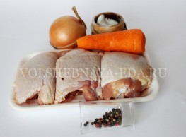 куриные бедрышки в рукаве: ингредиенты