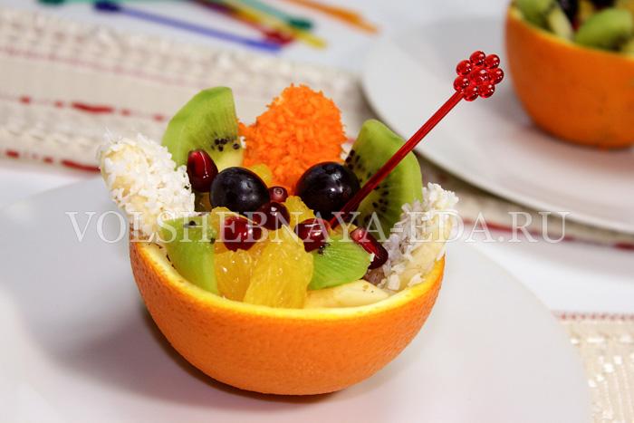 фото салат фруктовый
