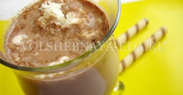 Какао с корицей и ванилином