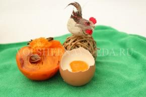 """Панна котта """"с яйцом"""" - итог 1"""