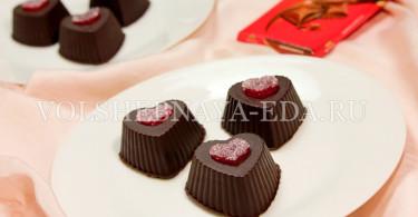 Шоколадный десерт с творогом