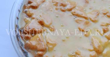 Тыквенный пирог: рецепт с фото