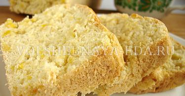 Постный хлеб с кукурузой рецепт с фото