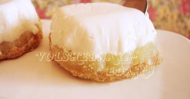 Чизкейк без выпечки рецепт с фото