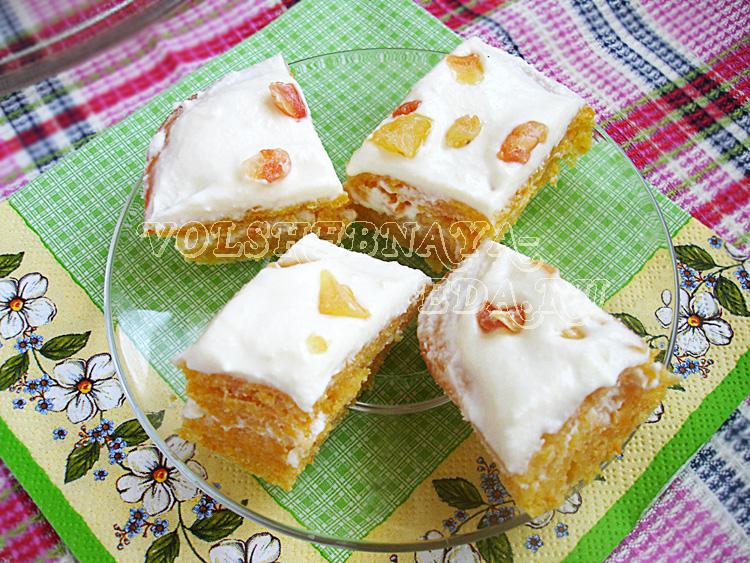 Морковный торт детский рецепт с фото