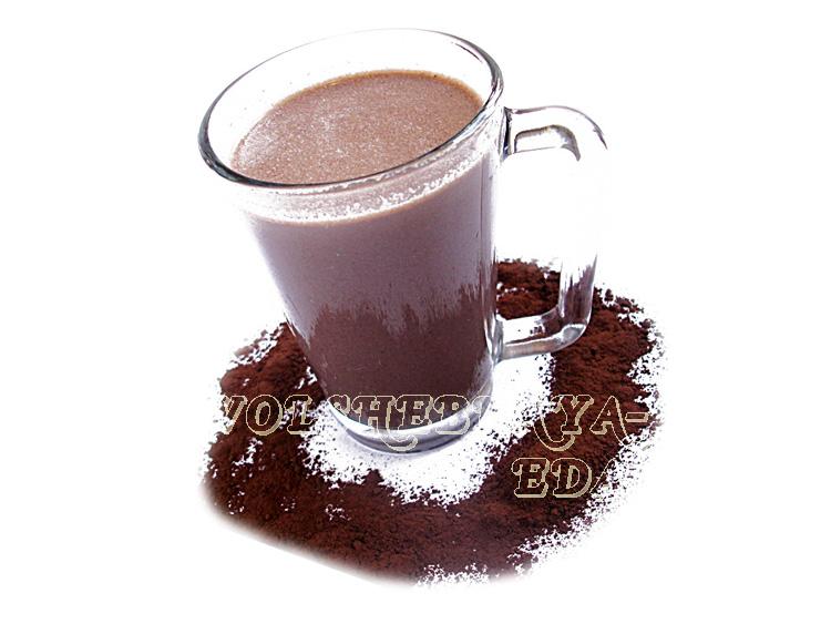 Какао на миндальном молоке