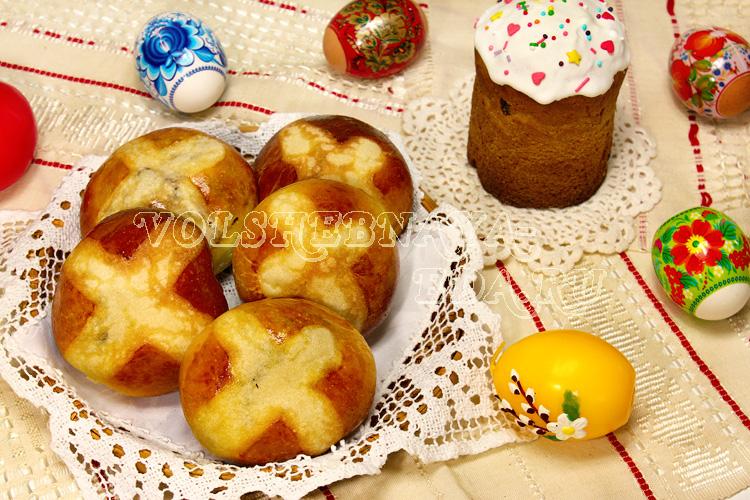 Английские пасхальные булочки рецепты с фото