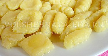 Картофельные клецки ньокки рецепт с фото