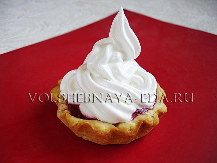 пирожное корзиночка рецепт с фото пошагово