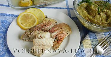Рыба, запеченная в духовке рецепт с фото