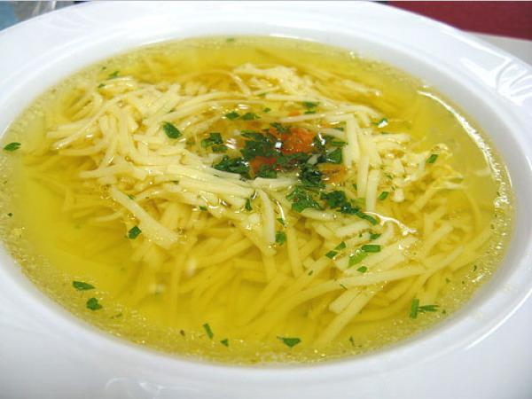 рецепт простого супа из курицы со сметаной