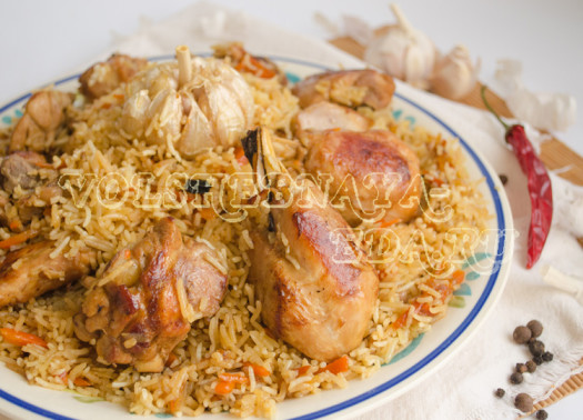 Рецепты плова с курицей