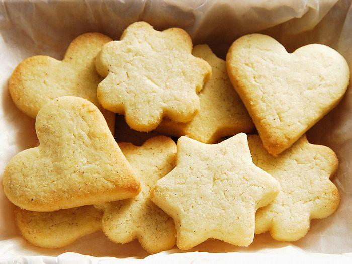 Рецепт быстрого песочного печенья