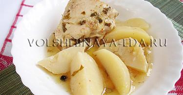 Жаркое из курицы рецепт с фото