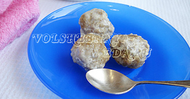 Говяжьи фрикадельки рецепт с фото