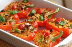 рецепт фаршированных перцев в духовке с фото