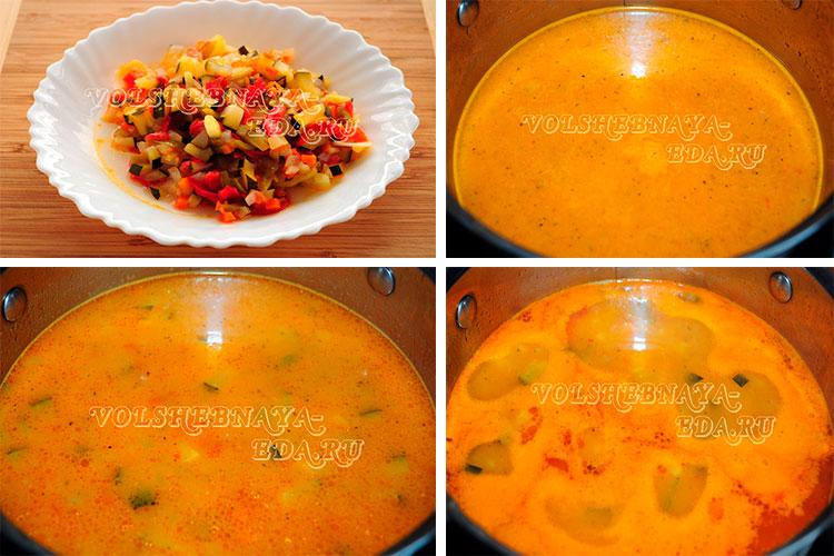 Рецепт супа минестроне