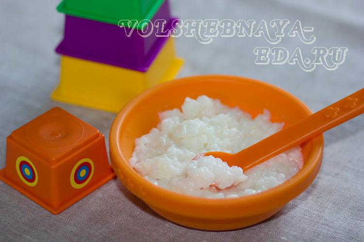 Молочная рисовая каша в мультиварке рецепт с фото