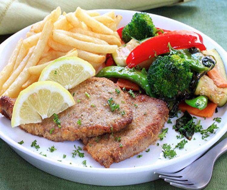 Вкусный салат с курицей и яблоками рецепт