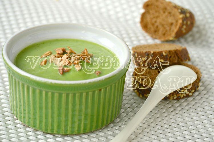 Крем-суп из брокколи рецепт с фото